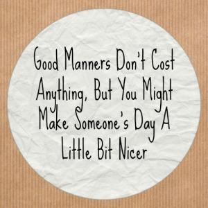mannersgood